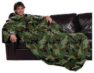 Slanket snuggie camouflage